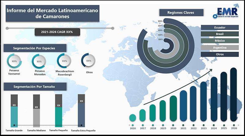 Informe del mercado latinoamericano de camarones