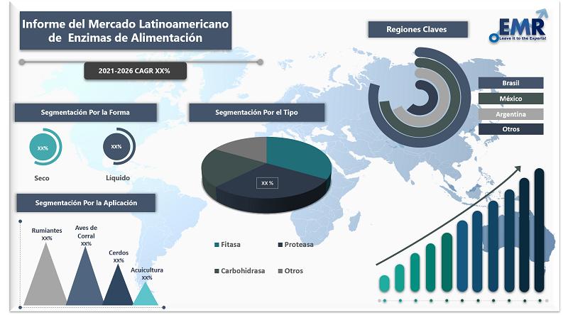 Informe del Mercado Latinoamericano de Enzimas de Alimentación